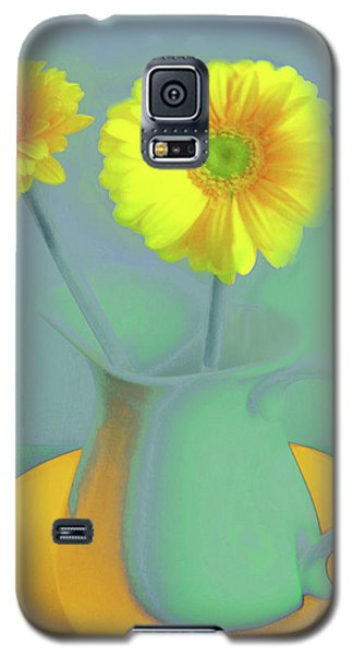 Abstract Floral Art 307 Galaxy S5 Case