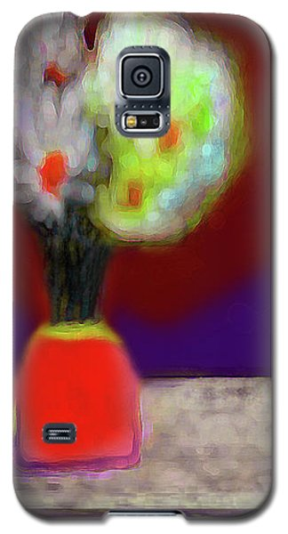 Abstract Floral Art 339 Galaxy S5 Case