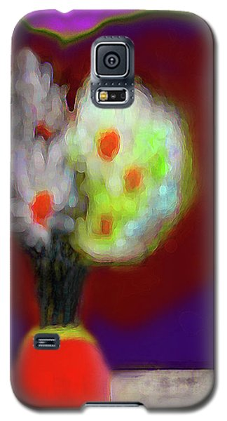 Abstract Floral Art 340 Galaxy S5 Case
