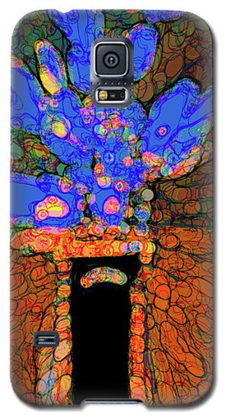 Abstract Floral Art 77 Galaxy S5 Case
