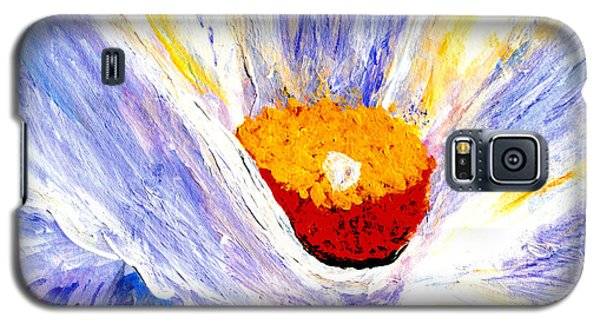 Abstract Floral Painting 001 Galaxy S5 Case
