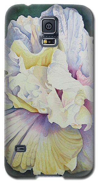 Galaxy S5 Case featuring the painting Abstract Floral by Teresa Beyer