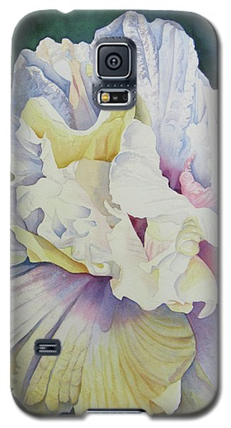 Abstract Floral Galaxy S5 Case by Teresa Beyer