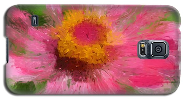 Abstract Flower Expressions Galaxy S5 Case