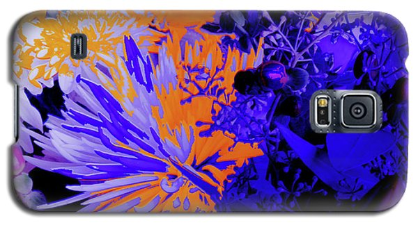 Abstract Flowers Of Light Series #1 Galaxy S5 Case