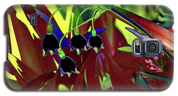 Abstract Flowers Of Light Series #10 Galaxy S5 Case