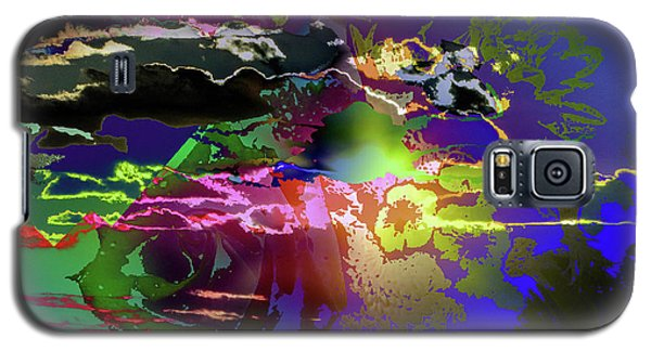 Abstract Flowers Of Light Series #11 Galaxy S5 Case