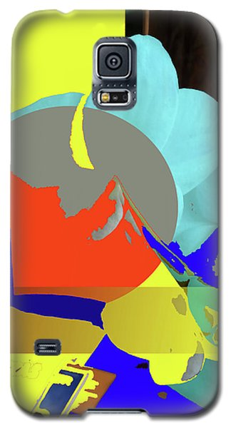 Abstract Flowers Of Light Series #14 Galaxy S5 Case