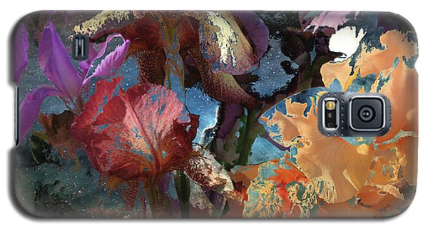 Abstract Flowers Of Light Series #15 Galaxy S5 Case