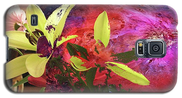 Abstract Flowers Of Light Series #16 Galaxy S5 Case