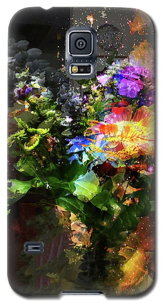 Abstract Flowers Of Light Series #17 Galaxy S5 Case