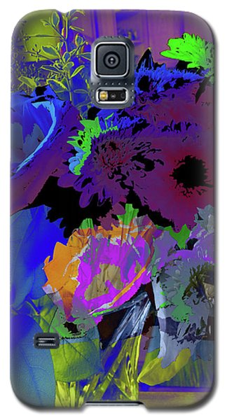 Abstract Flowers Of Light Series #18 Galaxy S5 Case