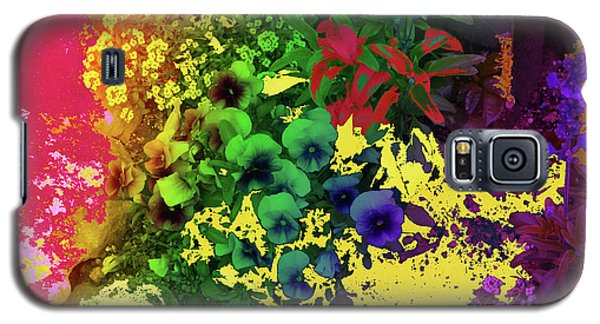 Abstract Flowers Of Light Series #2 Galaxy S5 Case