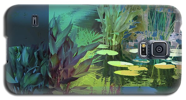 Abstract Flowers Of Light Series #20 Galaxy S5 Case