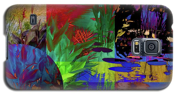 Abstract Flowers Of Light Series #21 Galaxy S5 Case
