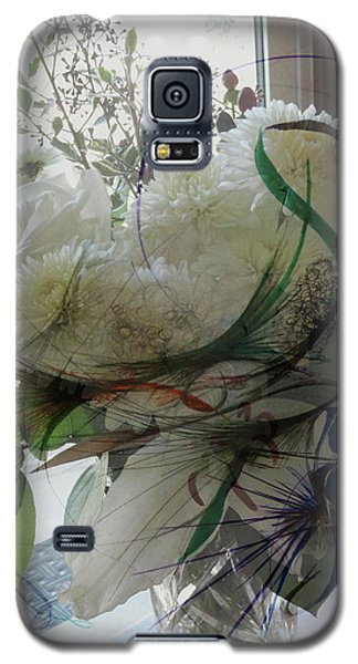 Abstract Flowers Of Light Series #3 Galaxy S5 Case