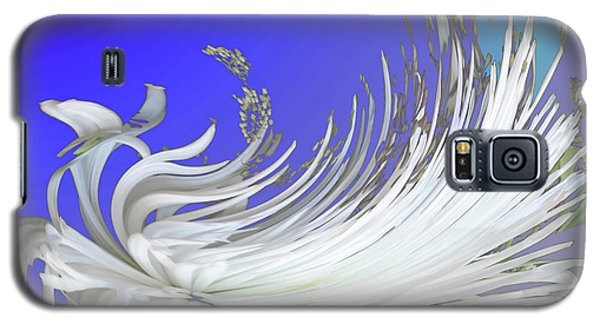Abstract Flowers Of Light Series #4 Galaxy S5 Case