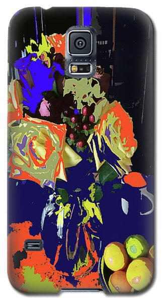 Abstract Flowers Of Light Series #8 Galaxy S5 Case