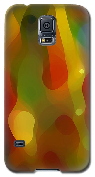 Abstract Flowing Light Galaxy S5 Case