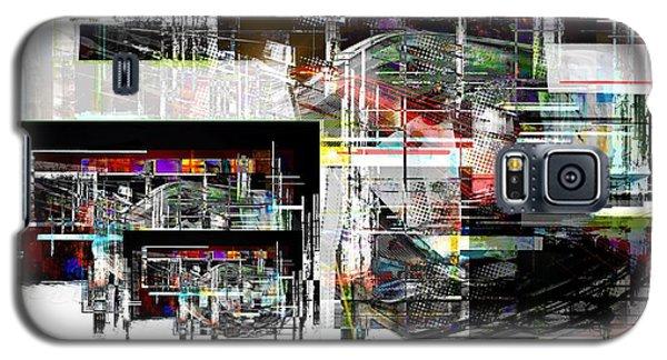 Abstract Fountain Galaxy S5 Case