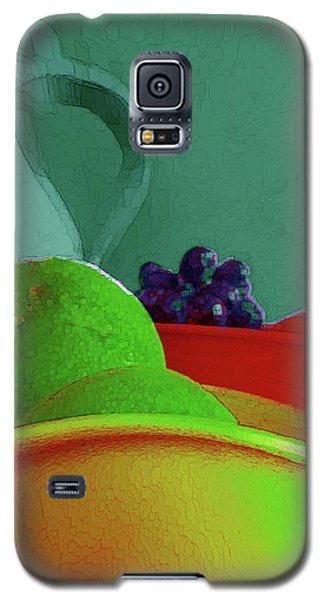 Abstract Fruit Art 85 Galaxy S5 Case