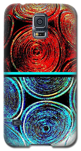 Galaxy S5 Case featuring the digital art Abstract Fusion 275 by Will Borden
