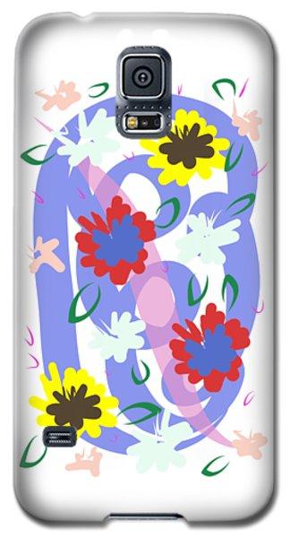 Abstract Garden #1 Galaxy S5 Case