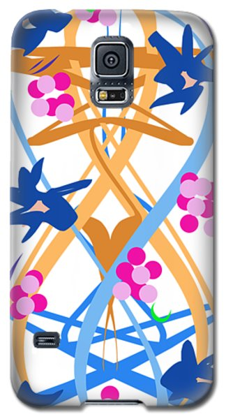 Abstract Garden #3 Galaxy S5 Case
