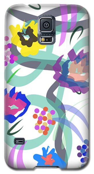 Abstract Garden Nr 4 Galaxy S5 Case