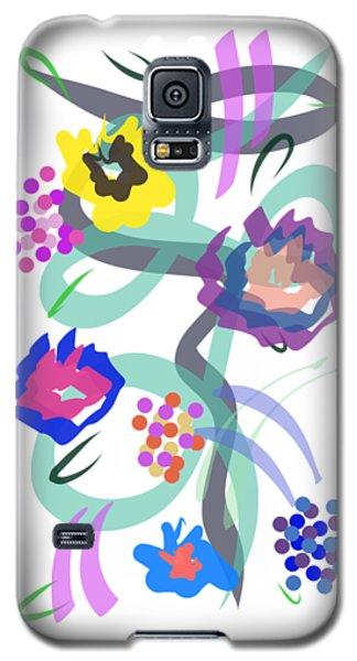 Abstract Garden Nr 4 Galaxy S5 Case