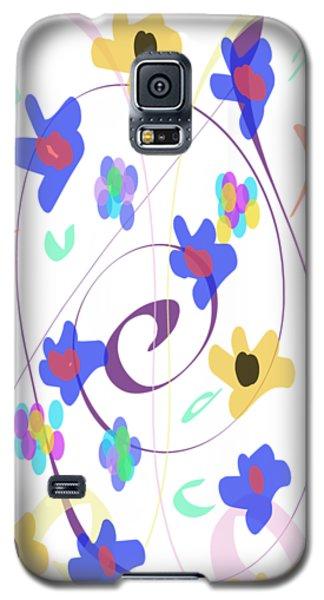 Abstract Garden Nr 7 Naif Style Galaxy S5 Case