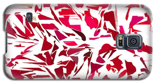 Abstract Geranium Galaxy S5 Case