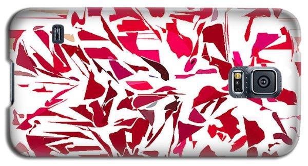 Abstract Geranium Galaxy S5 Case by Judi Suni Hall