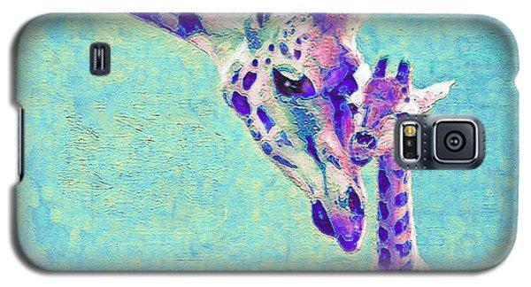 Abstract Giraffes Galaxy S5 Case
