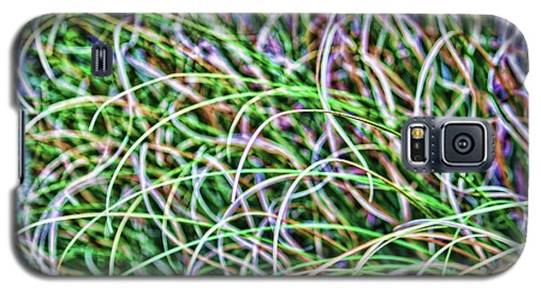 Abstract Grass Galaxy S5 Case