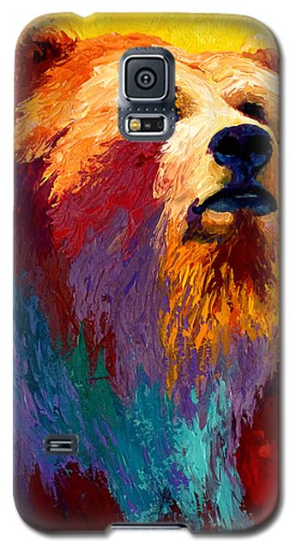 Abstract Grizz Galaxy S5 Case