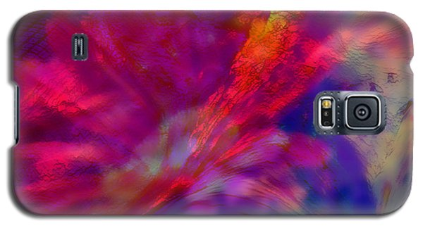 Abstract Gypsy Flower Galaxy S5 Case