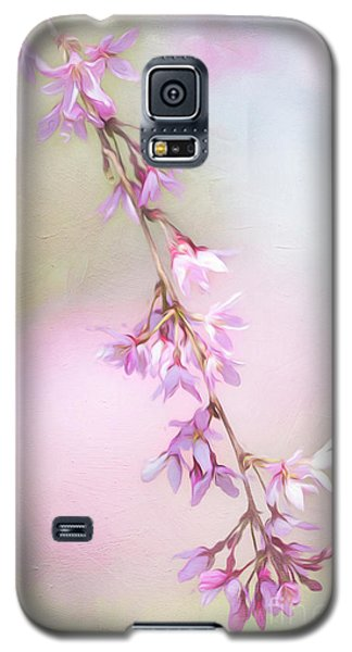 Abstract Higan Chery Blossom Branch Galaxy S5 Case