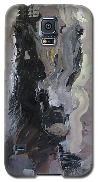 Galaxy S5 Case featuring the painting Abstract Horse Painting by Robert Joyner