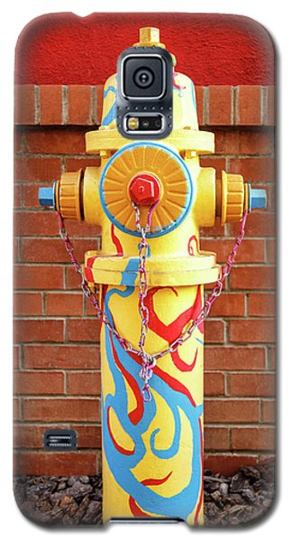 Abstract Hydrant Galaxy S5 Case by James Eddy