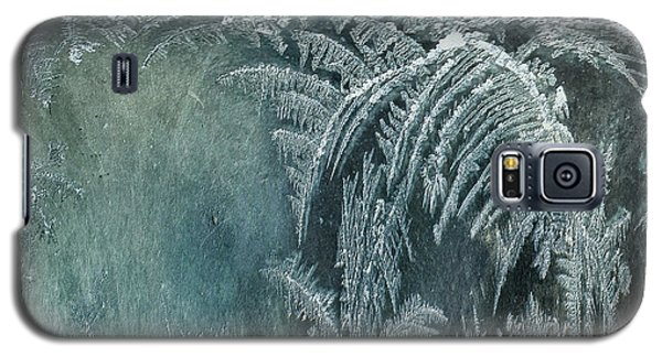 Abstract Ice Crystals Galaxy S5 Case