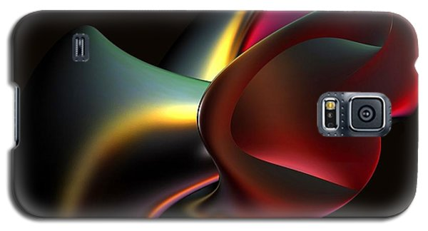 Abstract In 3d Galaxy S5 Case