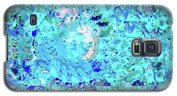 Abstract In Blue No. 56-2 Galaxy S5 Case