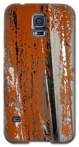 abstract junk yard photographs - Painted Glass Galaxy S5 Case