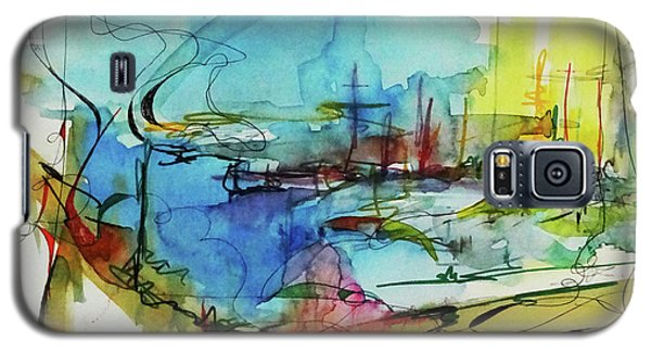 Abstract Landscape #1 Galaxy S5 Case