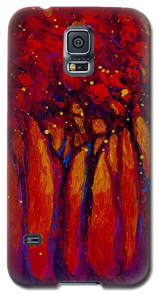 Abstract Landscape 2 Galaxy S5 Case