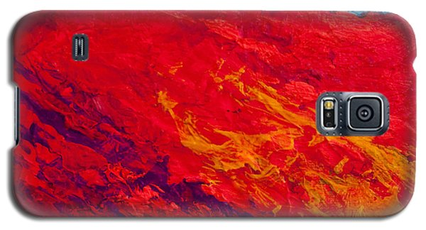 Abstract Landscape 4 Galaxy S5 Case