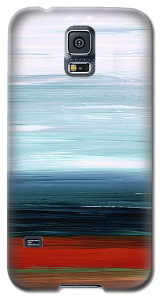 Abstract Landscape - Ruby Lake - Sharon Cummings Galaxy S5 Case by Sharon Cummings