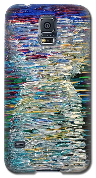 Abstract Latte Stone Galaxy S5 Case