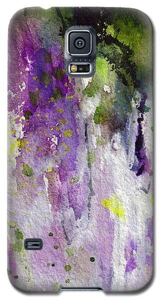 Abstract Lavender Cascades Galaxy S5 Case
